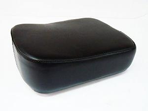 Rear black cushion
