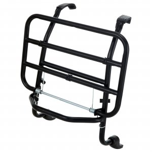 Complete front luggage rack in black for Vespa 125/150/200 Cosa 1-2