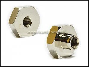 Nickel-plated nut