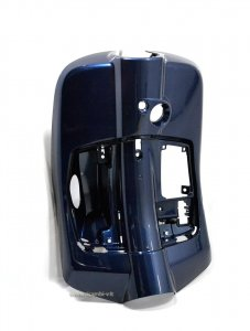 Glove box behind the shield in plastic painted Blue 222 / A for Vespa 125/150 Primavera