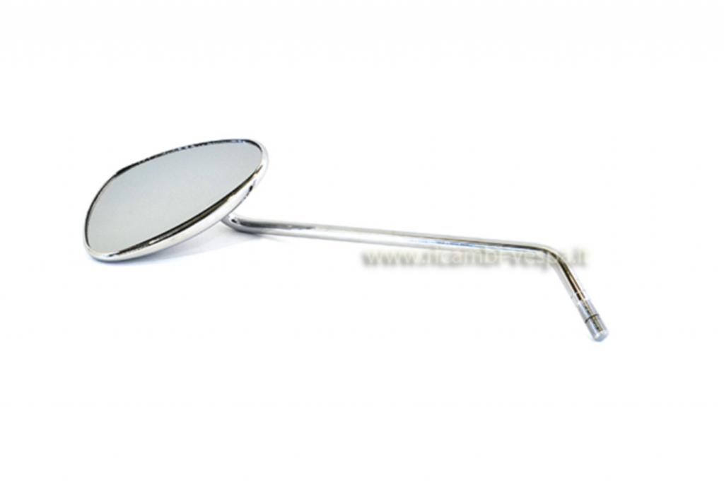 Chromium plated mirror (left)