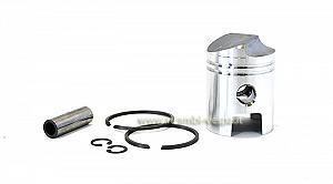 Complete piston with deflector 125cc, diameter 54 to 55.8 mm