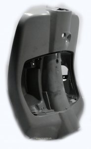 Knee-guard / gray plastic case for Vespa Primavera / Sprint 50 -150ccm 2T / 4T AC