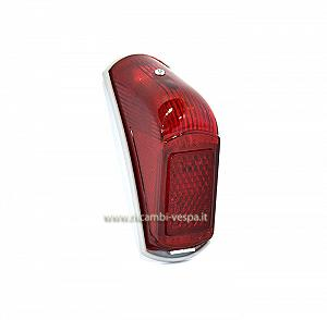 Rear light with grey gasket