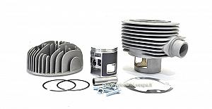 Pinasco Vespone RB Booster complete cylinder kit (177cc) in aluminium with central spark plug
