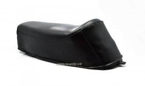 Complete black seat for Piaggio Boxer 2