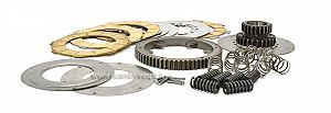 Clutch kit with cush drive, discs and springs