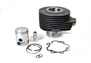 Complete GOETZE cylinder kit (125cc) in cast iron for Vespa PX-TS-GTR