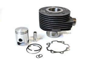 Complete GOETZE cylinder kit (150cc) in cast iron for Vespa PX-TS-GTR-Sprint Veloce