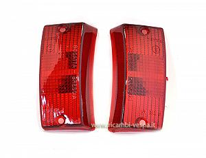 Red rigth and left indicator lenses