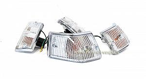 Chromium plated front and rear indicators kit