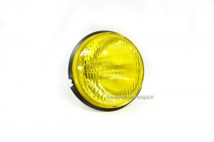 Optical group yellow glass with lamp holder for Vespa 50 PK S-XL-Rush-N