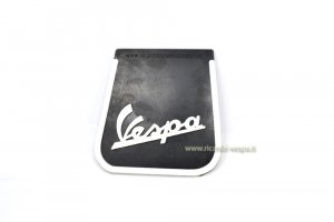 Black mud flap with Vespa logo