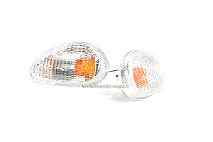 White front light indicators (pair)