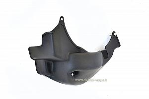 Black plastic engine guard