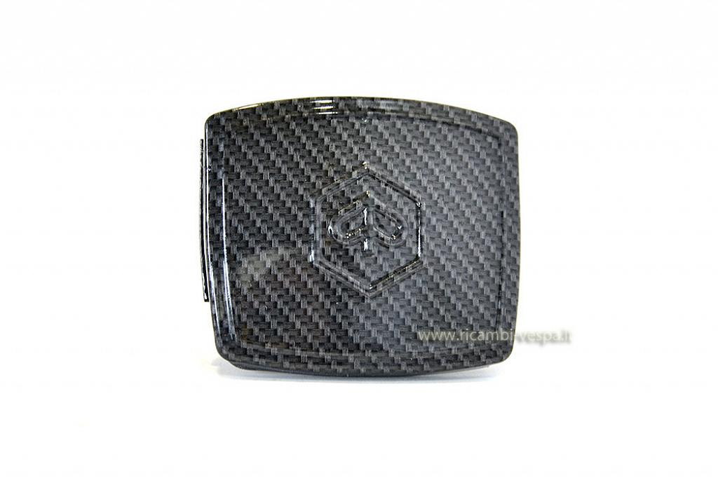 Carbon look speedometer cover