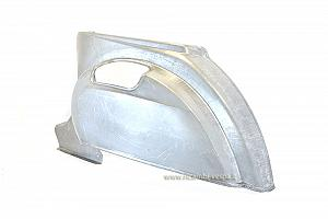 Rear left metal sheet
