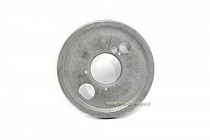 Front brake shoes dust-guard disk