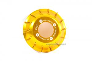 "Pinasco ""Airfanny"" aluminium fan, gold"