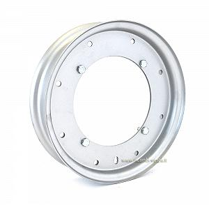 "Wheel rim enlarged from 8"" to 10"""