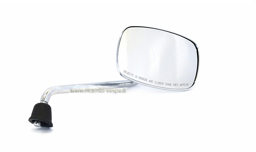 Chrome plated mirror (left)