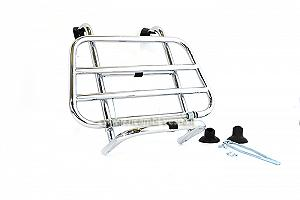 Chrome colour complete luggage carrier