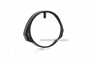 Headlamp rim, black metal
