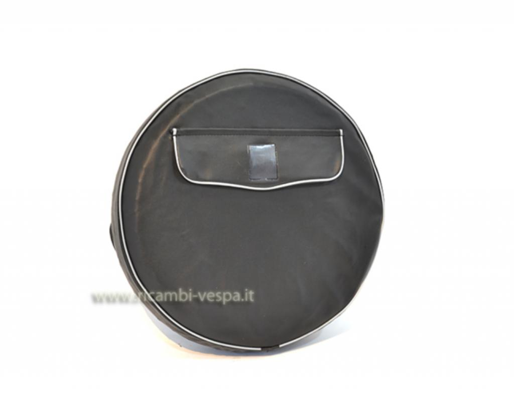 Black spare wheel cover ( 10'')