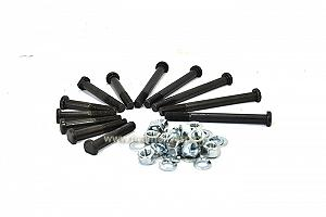 Piaggio complete kit of original bolts for crankcase fixing