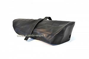 Black saddle cover