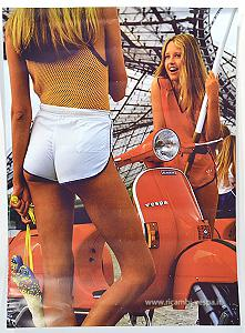 PX vintage poster with two girls (48x67)