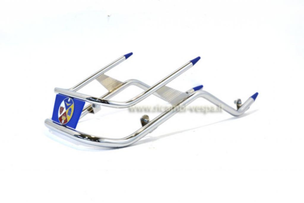 Blue chromium plated bumper