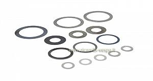 Spacing rings kit cluster, starter, gears and bearing