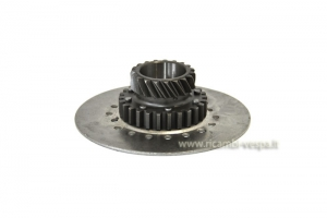 Gear clutch group Z21 on primary Z67 / 68 for Vespa 80-125-150-200 PX PE