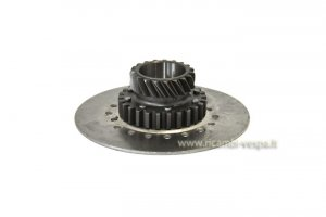 Gear clutch unit DRT Z22 on primary Z65 for Vespa 80-125-150-200 PX PE-GT-GTR-SPRINT-V-TS-GL-RALLY
