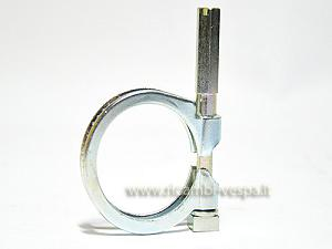 Complete clamp for carburetor fastening (diam. 37 mm.)