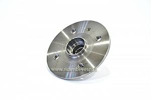 Drum holder wheel flange