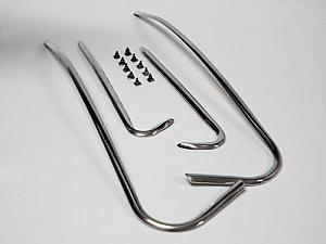 bonnet and mudguard friezes (4 pcs with 14 screws)