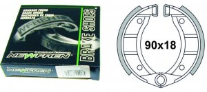 Pair of brake shoes for Piaggio Ciao Sì Bravo Boxer