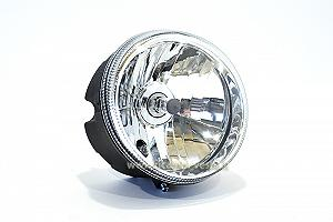 Headlamp unit with socket