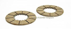 NEWFREN friction plates (2 pcs)