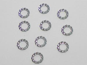 notched washers kit (10 pcs)