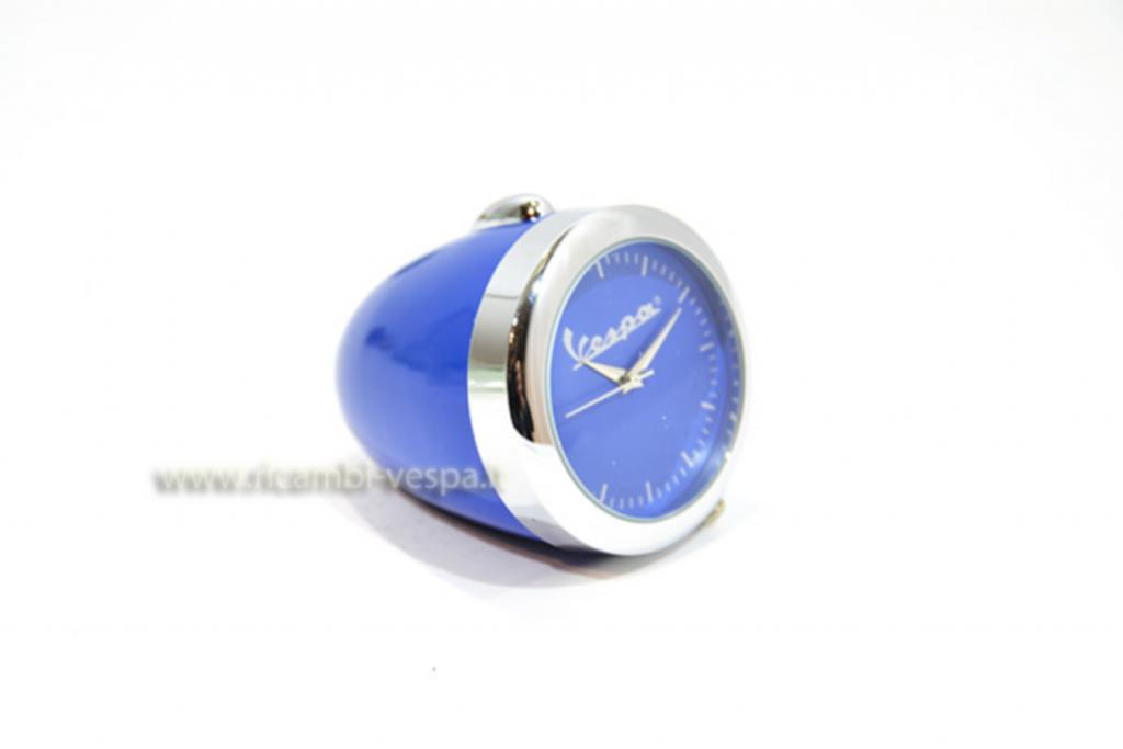 Blue mini table clock
