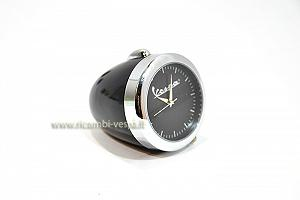 Black mini table clock