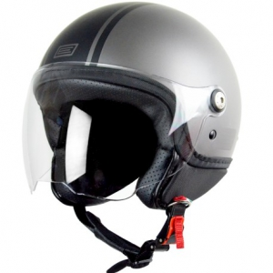 "Casco jet ""MIO"" Dandy grey Casco jet ""MIO"" Dandy grey"