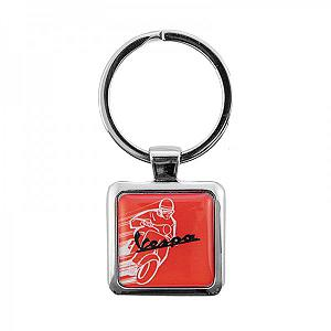 Resin Vespa keychain - Red