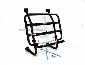 Black painted complete luggage carrier