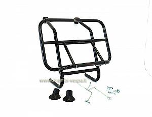 Complete luggage carrier, black painted