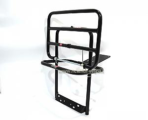 Black painted luggage carrier