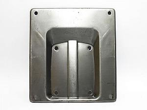 Original type plate holder for European plates (180x180 mm)